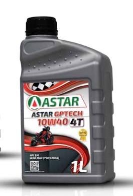 Astar GPTECH 10W-40 4T 1L